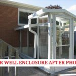 Shaped Porch Enclosures